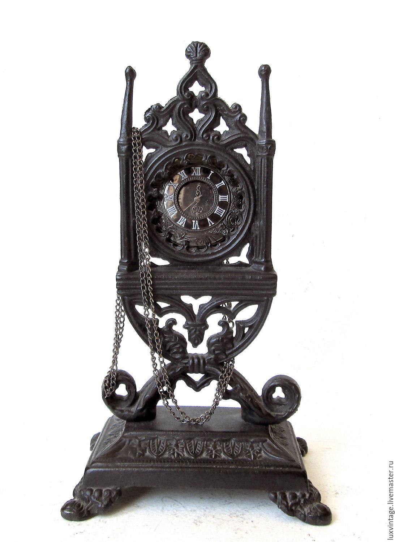 Vintage cast iron mantel