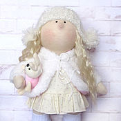 """Подарки к праздникам ручной работы. Ярмарка Мастеров - ручная работа Кукла """"большеножка"""" Стеша. Handmade."""