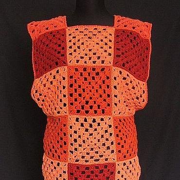 Одежда ручной работы. Ярмарка Мастеров - ручная работа Туника «Рыжик». Handmade.