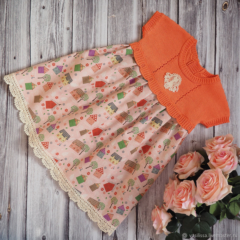 Платье Феечки маленьких домиков
