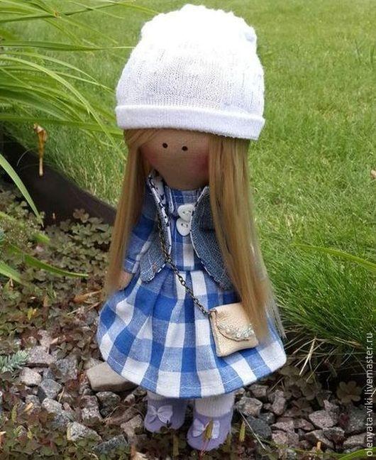 Куклы тыквоголовки ручной работы. Ярмарка Мастеров - ручная работа. Купить Кукла. Handmade. Комбинированный, саратов, подарок, трикотаж, бисер