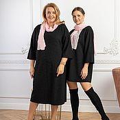 Одежда handmade. Livemaster - original item Soft pink viscose scarf. Handmade.