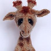 Куклы и игрушки ручной работы. Ярмарка Мастеров - ручная работа Жирафка. Handmade.