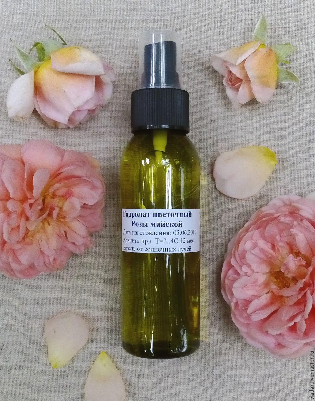 Гидролат розы майской