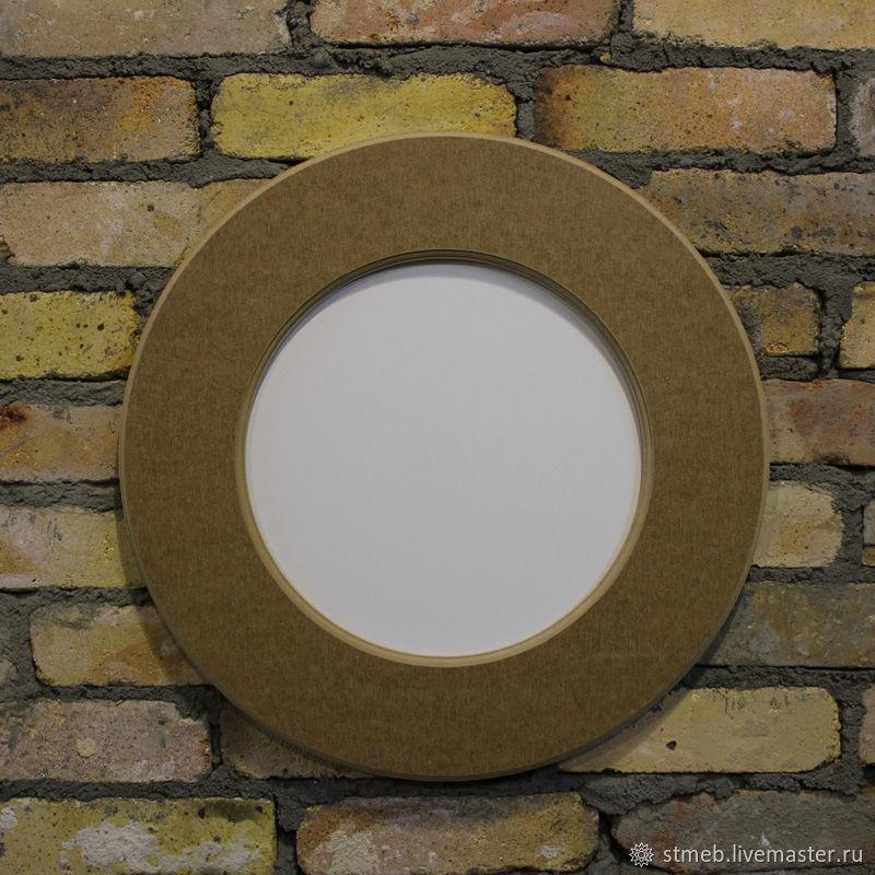 Рама круглая для зеркала 48 см, Заготовки, Санкт-Петербург, Фото №1