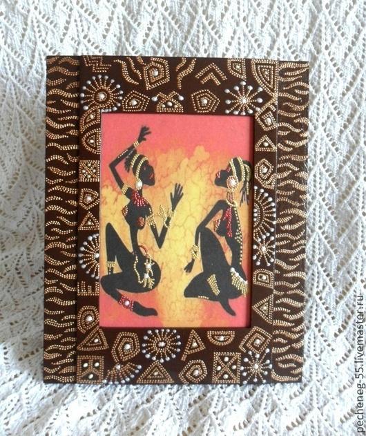 """Этно ручной работы. Ярмарка Мастеров - ручная работа. Купить Панно """"Африка,Африка"""". Handmade. Этно стиль, панно декупаж"""