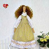 """Куклы и игрушки ручной работы. Ярмарка Мастеров - ручная работа Кукла Тильда в силе """"бохо"""". Handmade."""