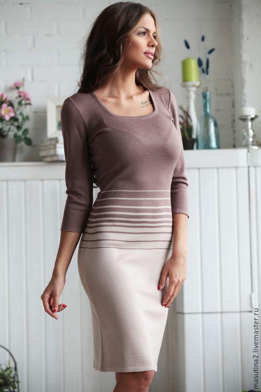 Dress 'Chocolate parfait', Dresses, St. Petersburg,  Фото №1