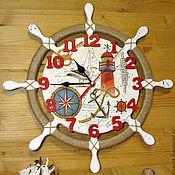 Для дома и интерьера handmade. Livemaster - original item The wheel-watch. Handmade.