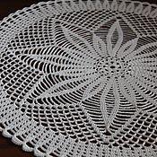 Для дома и интерьера handmade. Livemaster - original item Sunflower napkin (mini tablecloth). Handmade.