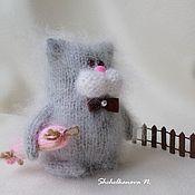 Куклы и игрушки handmade. Livemaster - original item The cat with sausages and interior toy, pussy, souvenir. Handmade.