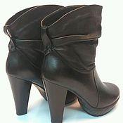 Обувь ручной работы. Ярмарка Мастеров - ручная работа Женские ботинки. Handmade.