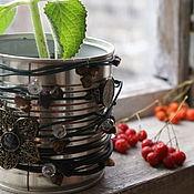 Кашпо ручной работы. Ярмарка Мастеров - ручная работа Кашпо для комнатных растений. Handmade.