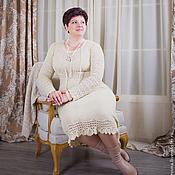 """Одежда ручной работы. Ярмарка Мастеров - ручная работа Платье """"Мерино - Силк"""". Handmade."""