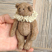 Куклы и игрушки ручной работы. Ярмарка Мастеров - ручная работа Мини мишка Тедди (12 см). Handmade.