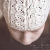 Работы для детей, ручной работы. Ярмарка Мастеров - ручная работа Ажурная шапочка для девочки. Handmade.