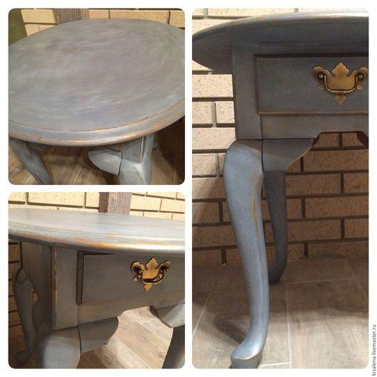 Мебель ручной работы. Ярмарка Мастеров - ручная работа. Купить столик. Handmade. Мебель, декоративное покрытие, консоль, паталь