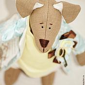 Куклы и игрушки ручной работы. Ярмарка Мастеров - ручная работа Романтичный пес. Handmade.