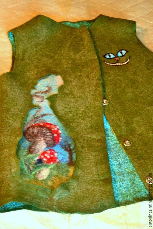 Одежда для девочек, ручной работы. Ярмарка Мастеров - ручная работа. Купить Алиса в стране чудес. Handmade. Зеленый, сказка, детский