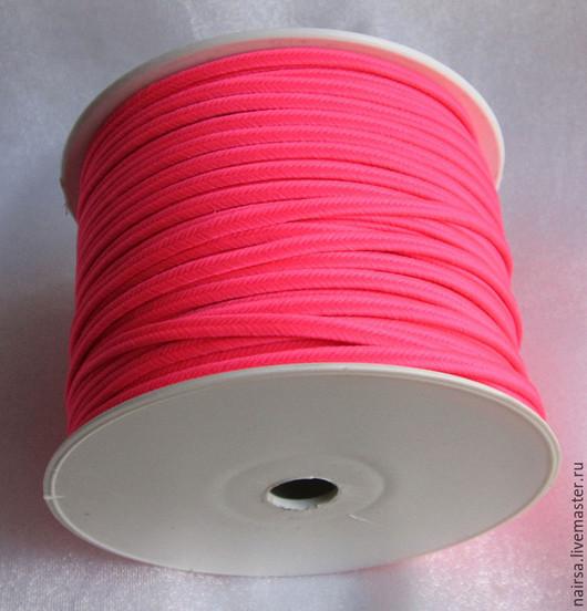 Люминесцентный розовый сутаж