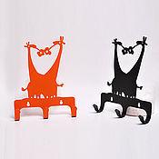 """Для дома и интерьера ручной работы. Ярмарка Мастеров - ручная работа крючок """"жирафы"""". Handmade."""