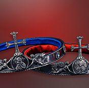 """Свадебный салон ручной работы. Ярмарка Мастеров - ручная работа Венцы для венчания """"Византия"""". Handmade."""