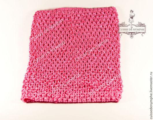 Шитье ручной работы. Ярмарка Мастеров - ручная работа. Купить Топ большой, ярко-розовый, 2008. Handmade. Топ, топ акриловый