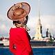 """Шляпы ручной работы. Ярмарка Мастеров - ручная работа. Купить Шляпа в стиле Леди Лайк """"Оливия"""". Handmade. Черный"""