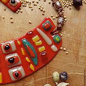 """Украшения ручной работы. Ярмарка Мастеров - ручная работа """"Мексиканская кухня"""", набор украшений. Handmade."""
