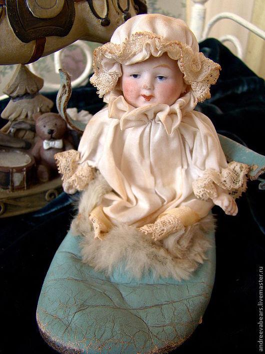 Коллекционные куклы ручной работы. Ярмарка Мастеров - ручная работа. Купить Кукла пупс фарфоровая. Handmade. Белый, Маленькая куколка