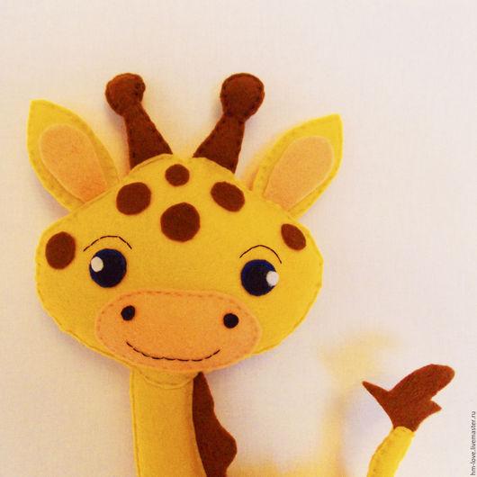Игрушки животные, ручной работы. Ярмарка Мастеров - ручная работа. Купить Жираф Жорик.  Жираф игрушка. Жираф подарок. Жирафа.. Handmade.