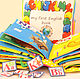 """Развивающие игрушки ручной работы. Ярмарка Мастеров - ручная работа. Купить Развивающая книжка """" My first English book"""". Handmade."""