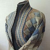 """Одежда ручной работы. Ярмарка Мастеров - ручная работа Жакет """"Северный берег"""". Handmade."""