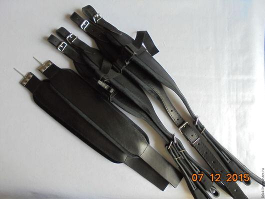 Комплект ремней `Евро` Кожа черная и ткань черная = 2000руб. + доставка. Кожа черная и ткань `бордо`  = 2300руб. + доставка.