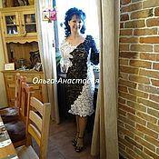 """Одежда ручной работы. Ярмарка Мастеров - ручная работа платье """"Роскошь"""" модель 2,авторская работа. Handmade."""