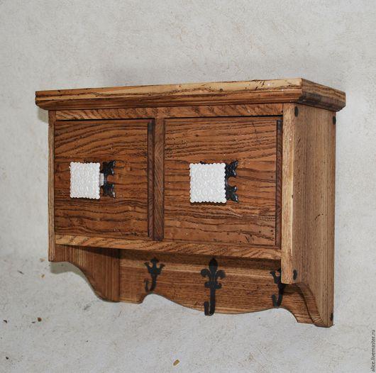Мебель ручной работы. Ярмарка Мастеров - ручная работа. Купить TYUDOR полка из дуба. Handmade. Коричневый, дорогой подарок для дома