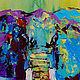 """Животные ручной работы. Картина со слоном """"В Жаркой-Жаркой Африке"""". ЯРКИЕ КАРТИНЫ Наталии Ширяевой. Интернет-магазин Ярмарка Мастеров."""