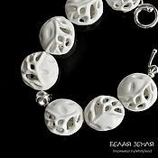 handmade. Livemaster - original item Porcelain bracelet