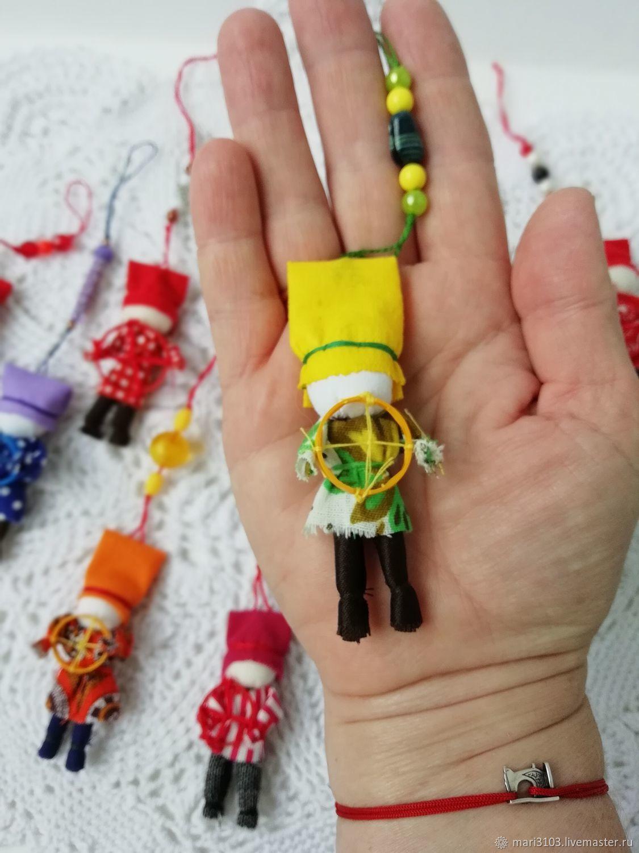 Spiridon-Solntsevorot a talisman for the motorist, Folk Dolls, Vyazma,  Фото №1