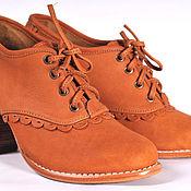 Обувь ручной работы. Ярмарка Мастеров - ручная работа Lace. Туфли для весны и осени из натуральной кожи.. Handmade.