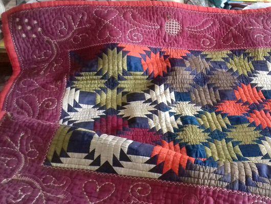 """Текстиль, ковры ручной работы. Ярмарка Мастеров - ручная работа. Купить Лоскутное одеяло """"Традиционное"""". Handmade. Лоскутное одеяло"""