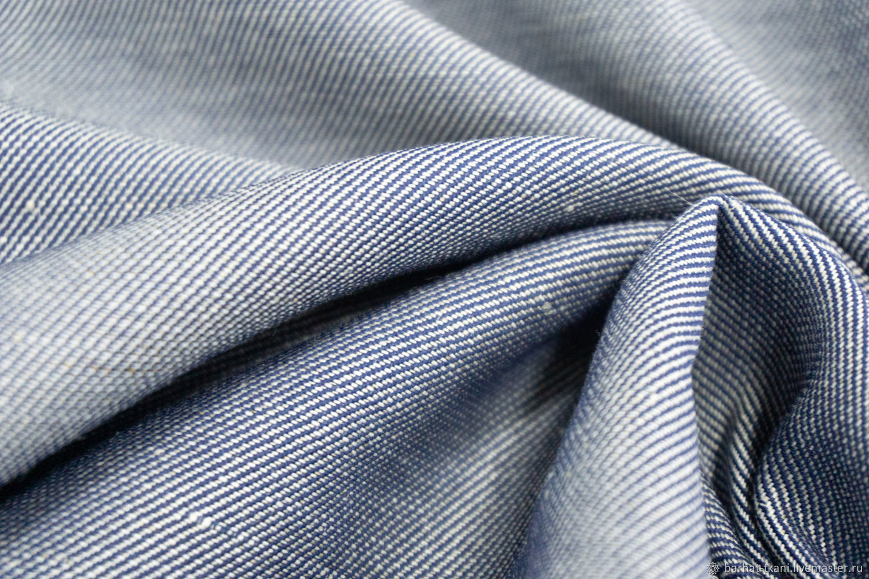 Ткань Хлопок джинс. Итальянская ткань, Ткани, Сочи,  Фото №1