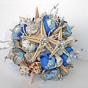 Свадебный салон ручной работы. Ярмарка Мастеров - ручная работа Букет из ракушек Морской Бриз. Handmade.