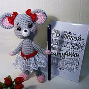 Мягкие игрушки ручной работы. Ярмарка Мастеров - ручная работа Мышка - малышка. Handmade.