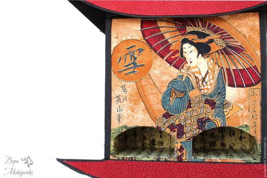 Чайный домик картонаж. Японский чайный домик. Ручная работа. Вера Макаренко. Ярмарка мастеров
