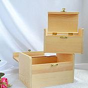 Материалы для творчества handmade. Livemaster - original item Set of plywood boxes for painting and decoration. Handmade.