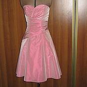 Одежда ручной работы. Ярмарка Мастеров - ручная работа Короткое розовое платье Кэнди. Handmade.