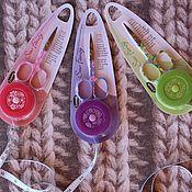 Материалы для творчества handmade. Livemaster - original item Set scissors and tape-roulette