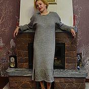 Одежда handmade. Livemaster - original item Alpaka Royal mink Dress. Handmade.