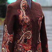 Одежда ручной работы. Ярмарка Мастеров - ручная работа Валяный жакет Яркая осень. Handmade.